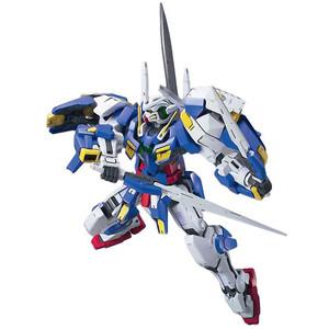 GN-001/hs-A01 Gundam Avalanche Exia: Gundam 00 1/100 Model Kit (NG00 #009)