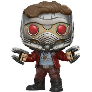 Star-Lord (Chase Edition): Funko POP! Marvel x Guardians of the Galaxy 2 Vinyl Figure