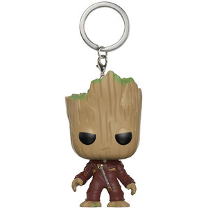 Groot: Funko Pocket POP! x Guardians of the Galaxy 2 Mini-Figural Keychain