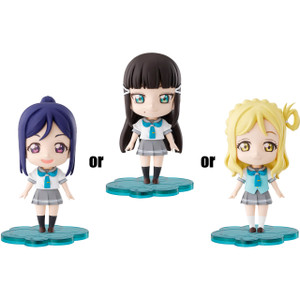Kanan, Dia, Mari: Love Live! Sunshine!! x Tamashii Nations Petiture-rise Model Kit