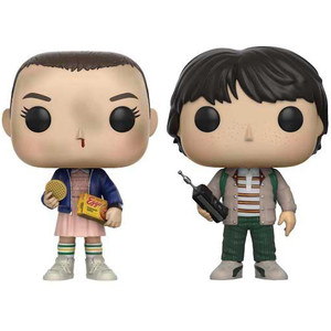 Eleven with Eggos, Mike: Funko POP! TV x Stranger Things Vinyl Figure