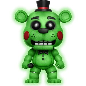 Toy Freddy [Glow-in-Dark] (f.y.e. Exclusive): Funko POP! Games x Five Nights at Freddy's Vinyl Figure