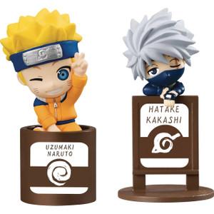 Naruto & Kakashi: Naruto Shippuden x Megahouse Ocha Tomo Micro Figure