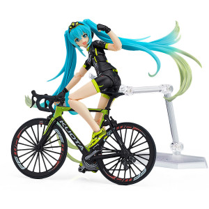 "Racing Hatsune Miku [TeamUKYO Support Ver.]: ~5.5"" GoodSmile Racing x Max Factory figma Action Figure"