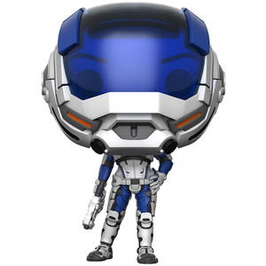 Sara Ryder [Masked] (GameStop Exclusive): Funko POP! Games x Mass Effect Vinyl Figure