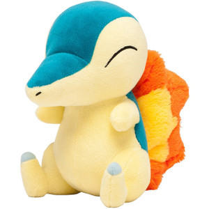 "Cyndaquil: ~7"" Pokemon Center Japan Poké Doll Plush"