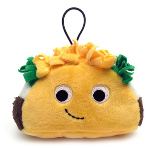 "Flaco Taco: ~4"" Kidrobot Yummy World Cute Cravings Mini Plush"