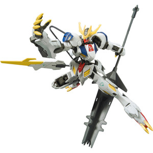ASW-G-08 Gundam Barbatos Lupus Rex: High Grade Gundam Iron Blooded Orphans 1/144 Model Kit (HGIBO #033)