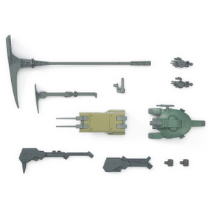 Mobile Suit Option Set 8 & SAU Mobile Worker: High Grade Gundam Iron Blooded Arms 1/144 Model Kit (HGIBA #008)
