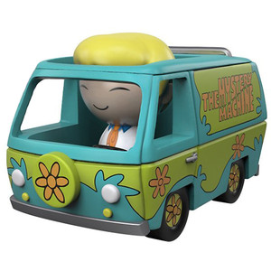 Mystery Machine w/ Fred: Funko Dorbz Ridez x Scooby-Doo Vinyl Figure