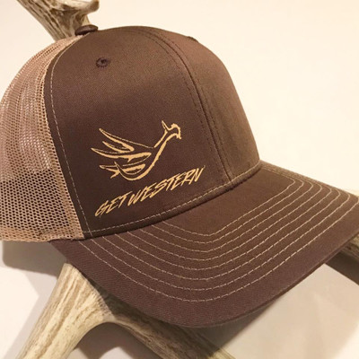 Get Western Muley Shed Hat - Brown/Khaki