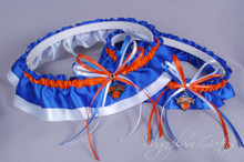 New York Knicks Wedding Garter Set