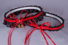 Chicago Blackhawks Wedding Garter Set