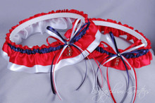 Boston Red Sox Wedding Garter Set