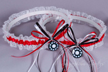 Iron Man Lace Wedding Garter Set