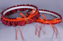 Virginia Tech Hokies Wedding Garter Set