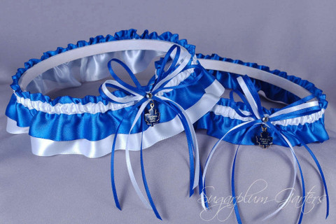Toronto Maple Leafs Wedding Garter Set