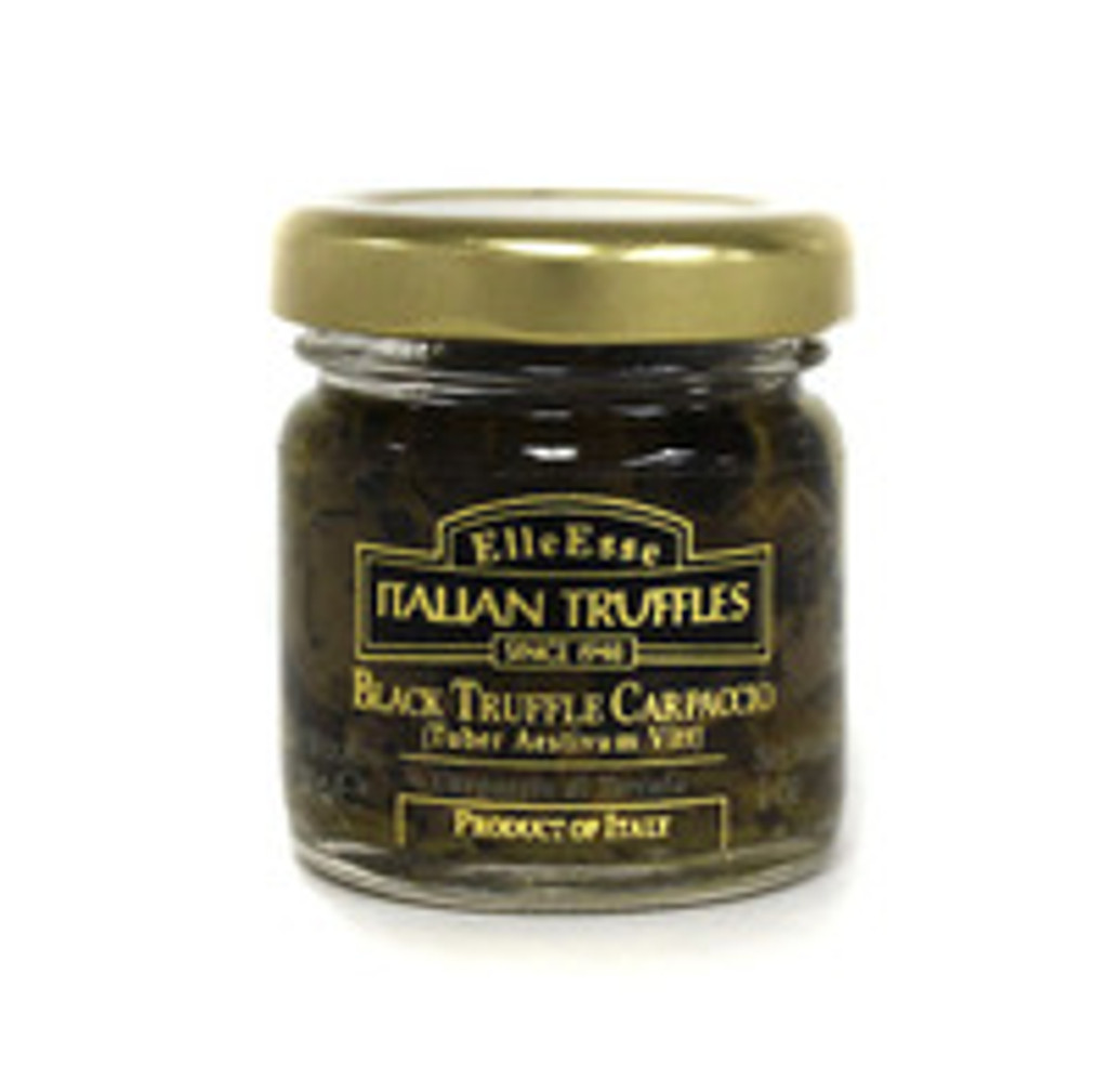 CAVIAR STAR RECIPE #1 - Elle Esse Black Truffle Carpaccio & Cream Pasta (serves 6)