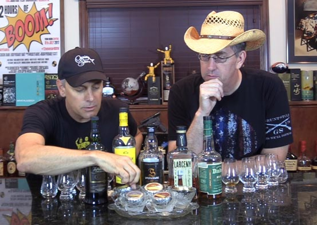 Pairing Caviar and Whisky with the Scotch Test Dummies