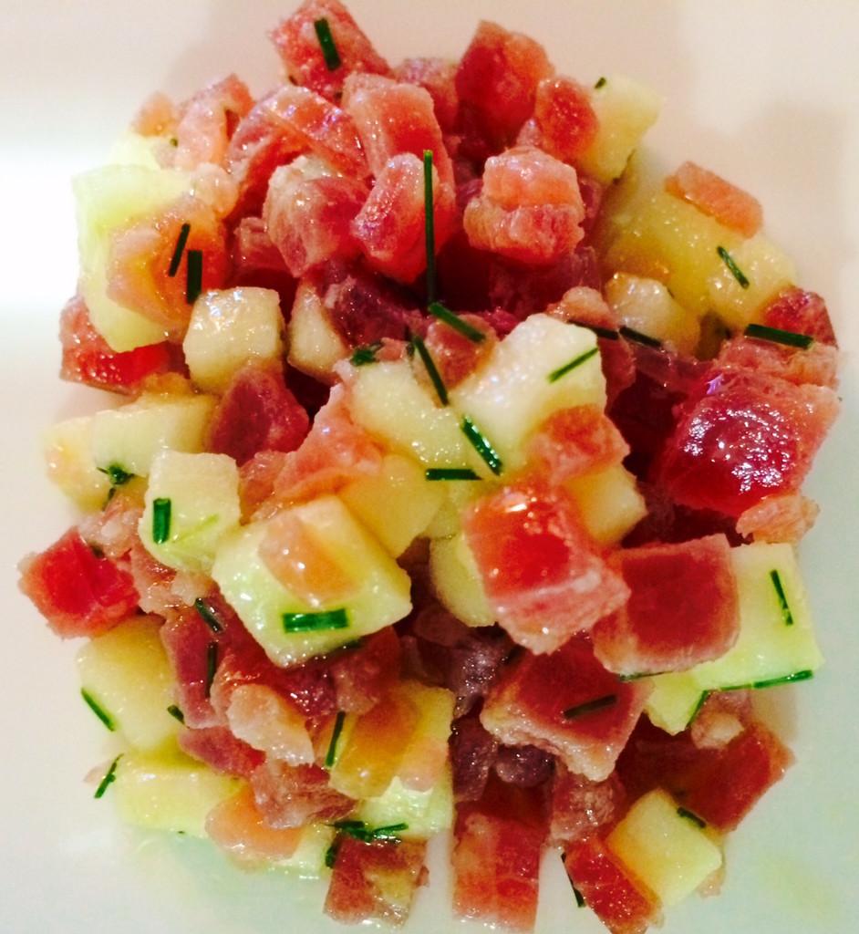 CAVIAR STAR RECIPE #3 - Mojama & Apple Salad