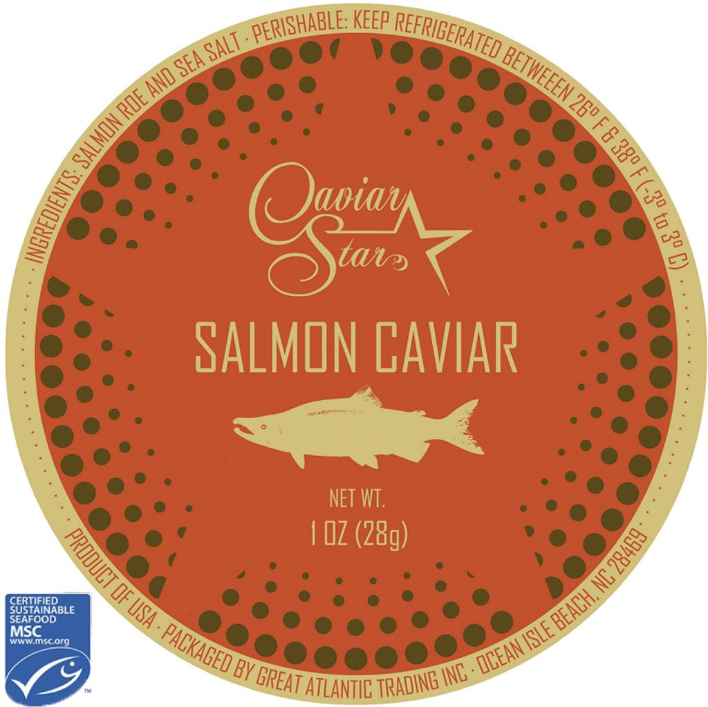 MSC Certified Domestic Salmon Roe