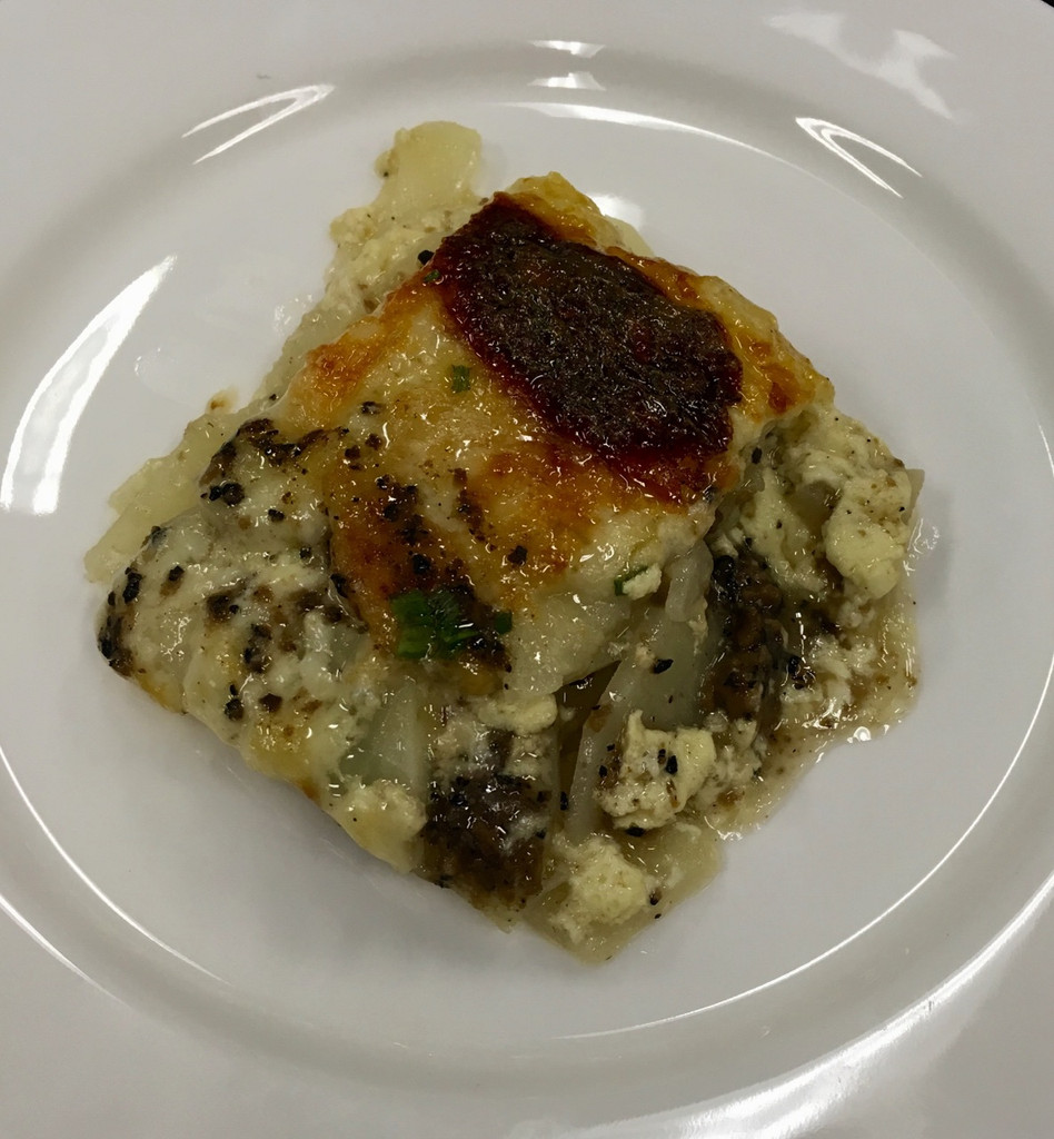 Caviar Star Recipe #24 - Truffled Potato Dauphinoise