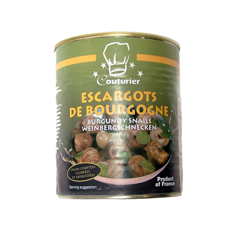 CAVIAR STAR RECIPE #8 - ESCARGOT A LA BOURGUIGNONNE