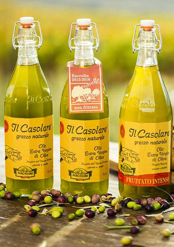 Farchioni's Il Casolare Italian Extra Virgin Olive Oil Is No Counterfeit - CBS News Network's 60 Minutes Tested & Approved