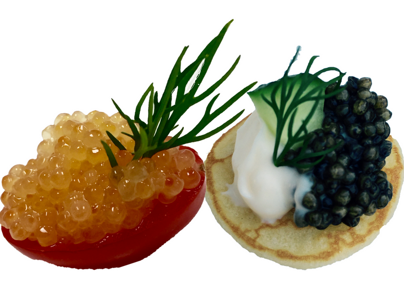 What is the difference between black caviar and red caviar for Black caviar fish