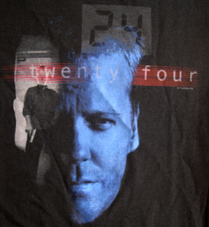 24: Jack Bauer Squared T-Shirt