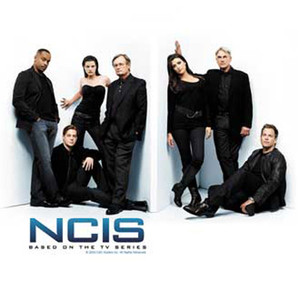 NCIS Cast in White Room
