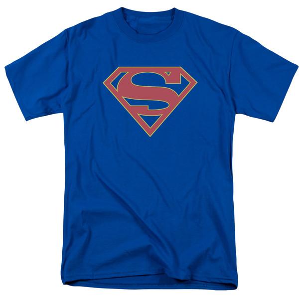 Supergirl Symbol on Royal Blue
