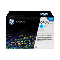 HP 4700 643A Cyan Toner Cartridge - New