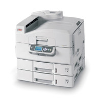 OKI C 9600n Color LED printer - 40 ppm - 760 sheets