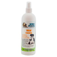 Wham Anti-Itch Spray helps in the relief of itching, hot spots, yeast, dry flaky skin, dandruff and a range or other skin irritations.