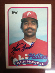 Ken Howell Autographed 1989 Topps Traded #54T