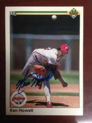 Ken Howell Autographed 1990 Upper Deck  #488