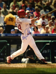 Mike Lieberthal Autographed Phillies 16 x 20  Photo 3