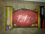 "Robert Griffin III Autographed Wilson ""The Duke""  Football"