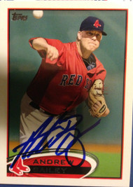 Andrew Bailey Autographed 2012 Topps Mini #539