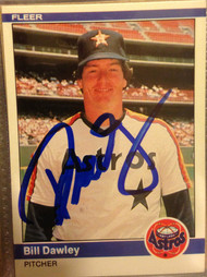 Bill Dawley Autographed 1984 Fleer #223