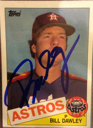 Bill Dawley Autographed 1985 Topps #634