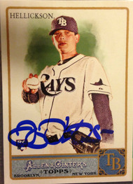 Jeremy Hellickson Autographed 2011 Topps Allen & Ginter #20 Rookie