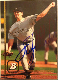 Sterling Hitchcock Autographed 1994 Bowman #333
