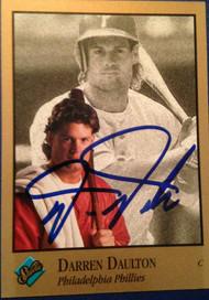 Darren Daulton Autographed 1992 Studio #73