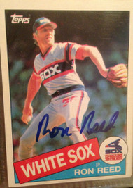 Ron Reed Autographed 1985 Topps #221