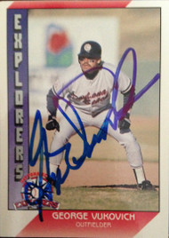 George Vukovich Autographed 1991 Pacific Senior League #45