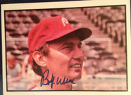 SOLD 2197 Bobby Wine Autographed 1978 SSPC