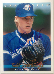 Todd Stottlemyre Autographed 1993 Upper Deck #413