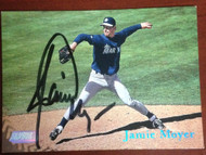 Jamie Moyer Autographed 1998 Stadium Club  #278